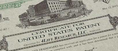 4Life patentai